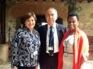 En la VI Cumbre de las Americas con las embajadoras de EU y Jamaica